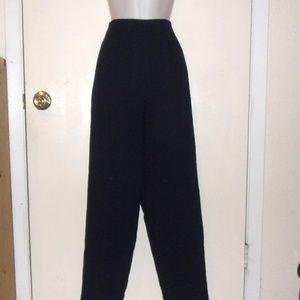 Jones New York Wool Dress Pants Navy Lined 6 #3062